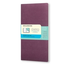 Блокнот Moleskine Chapter Slim Large фиолетовый