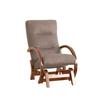 Кресло-глайдер «Мэтисон», ткань ореховый, каркас вишня, GREENTREE, г. Воронеж