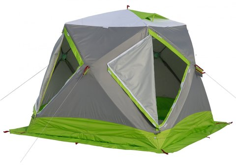 Палатка для зимней рыбалки Лотос Куб Классик Термо + Гидродно