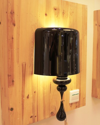 replica   Eva A1 wall lamp (black)
