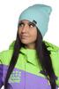 Горнолыжная шапка Cool Zone (кул зон)  бирюзовая