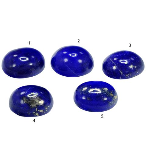 Лазурит комплект 5 камней