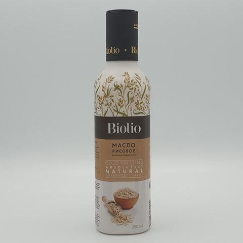 Масло рисовое рафинированное BIOLIO, 250 мл