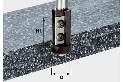 Фрезы пригоночные со сменными ножами HW, хв. 12 мм HW S12 D21/30WM 491120