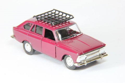 IZH-1500 Kombi with roof rack red Agat Mossar Tantal 1:43