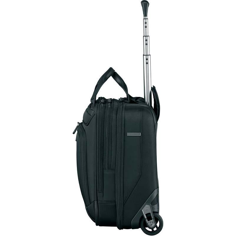 Сумка на колесах Victorinox VX One Briefcase 15,6', чёрный, 42x21x40 см, 35 л