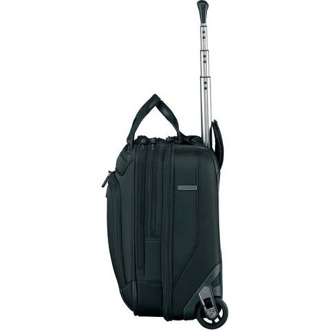 Сумка на колесах Victorinox VX One Briefcase 15,6', черный, 42x21x40 см, 35 л