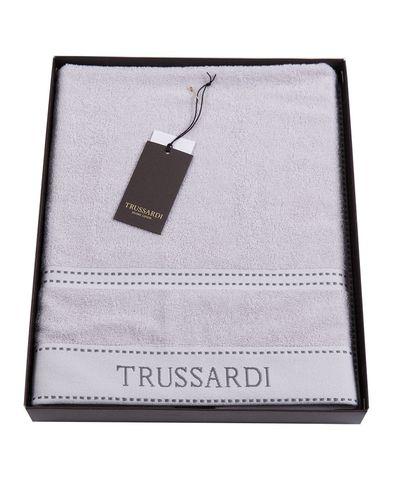 Полотенце 100х150 Trussardi Ribbon Pearl grey