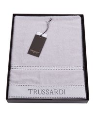 Полотенце 100х150 Trussardi Ribbon Pearl grey