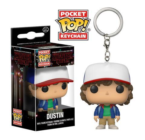 Брелок Funko Pocket POP! Keychain: Stranger Things: Dustin 14229-PDQ