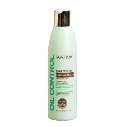 Шампунь Контроль для жирных волос Kativa Oil Control 250мл