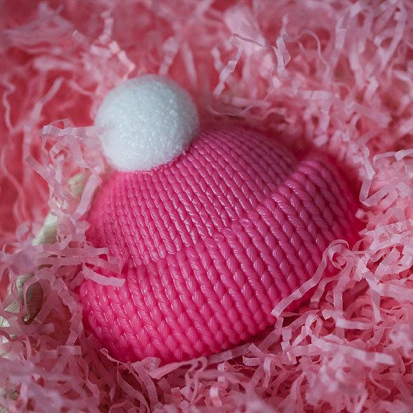 Мыло в виде шапки. Пластиковая форма