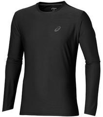 Мужская рубашка для бега Asics LS Top 134088 0904 черная