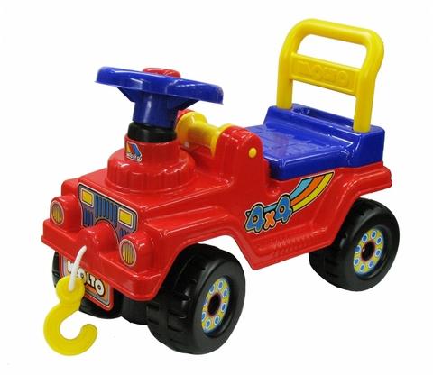 Автомобиль Джип-каталка №3 4х4 с крюком