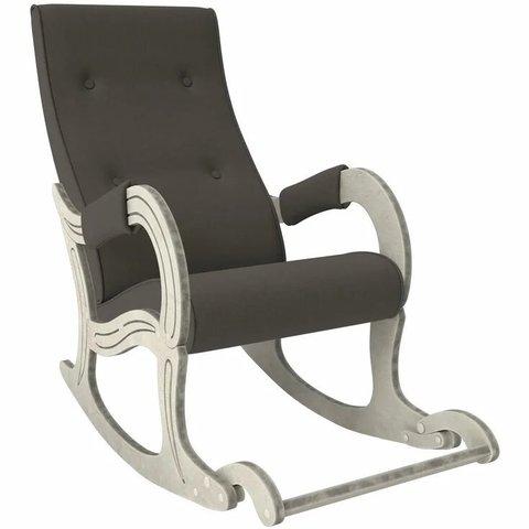 Кресло-качалка Комфорт Модель 707 дуб шампань патина/Montana 802, 013.707