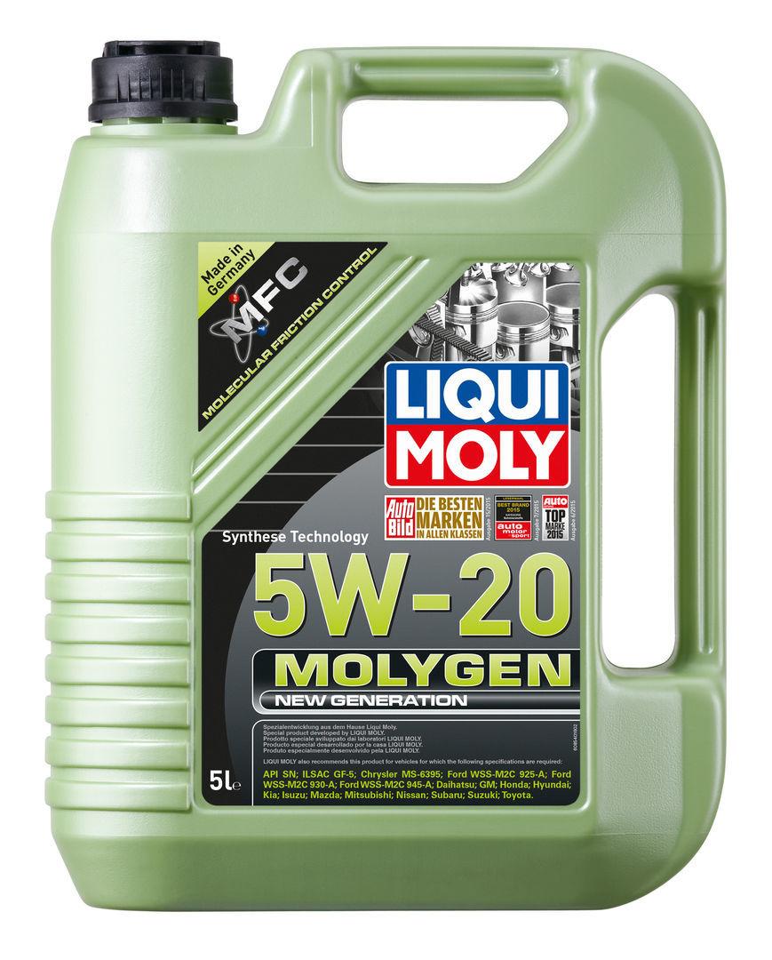 Liqui Moly Molygen New Generation 5W20 НС синтетическое моторное масло