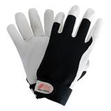 Перчатки DEXTER 1 комбинированные из кожи наппа и трикотажа (Nitras)