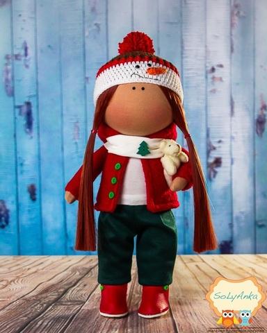 Кукла Салли из коллекции - Honey Doll. Рождественская серия