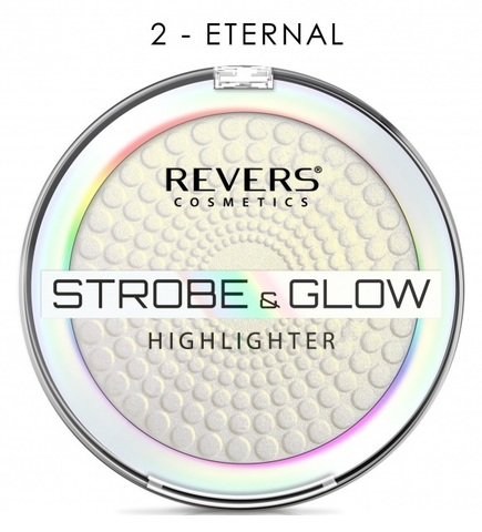 Revers Strobe & Glow Highlighter Рассветляющая пудра №02 Eternal (*3)