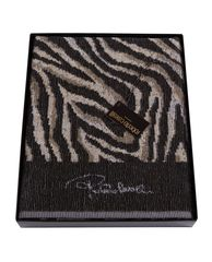 Полотенце 100х150 Roberto Cavalli Savanna Grey