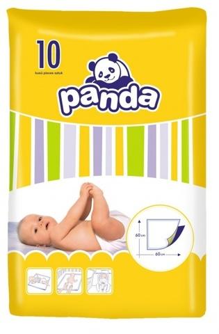 Пеленки одноразовые Panda 60х60см, 1уп/10шт. Фото1