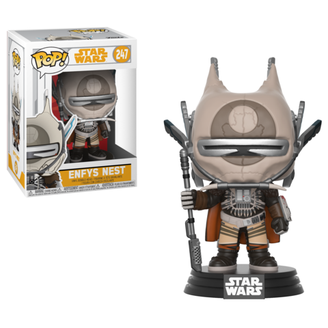 Фигурка Funko POP! Bobble: Star Wars: Solo: Enfys Nest POP 10 26984