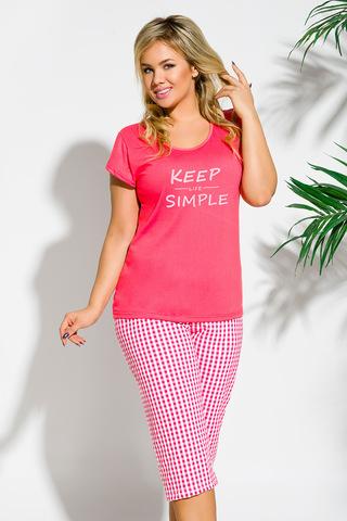 Пижама 8S Paula 2194 Pink Taro