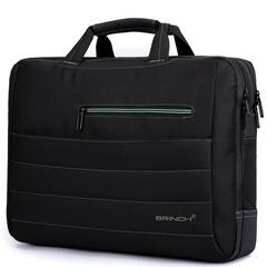 Сумка для ноутбука Brinch BW-214 Черный + Зеленый 17