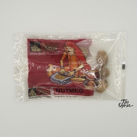 Мускатный орех целый Bharat Bazaar, 50 гр