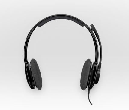 LOGITECH H250 Stereo Headset Graphite