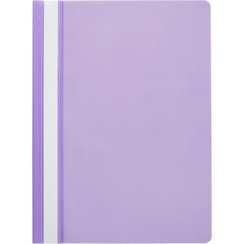 Папка скорос-тель A4 Attache (100/110) фиолетовый 10шт/уп Россия