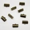 Концевик для лент 13 мм (цвет - античная бронза), 10 штук