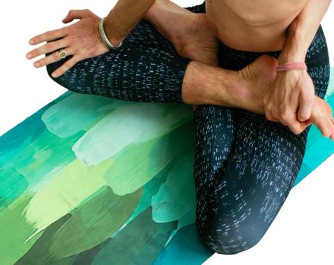 Каучуковый коврик для йоги Pinecone 173-200*61*1-3мм