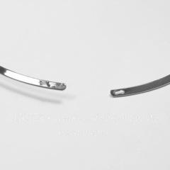 Основа для колье (цвет - платина) 45,5 см