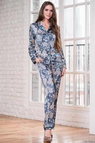 Комплект c брюками Mia-Amore 3286 LINDA (70% шелк)