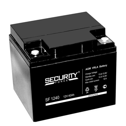 SF 1240 аккумулятор 12В/40Ач Security Force