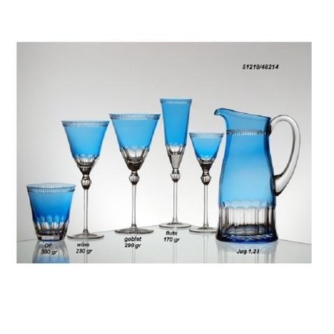 Бокал для вина 290 мл, артикул 1/65466. Серия Heaven Blue