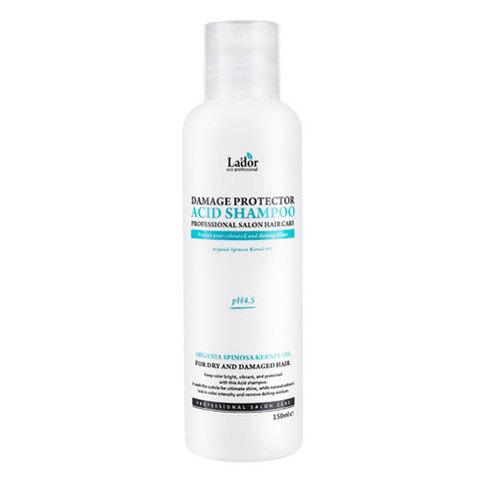 Lador Damaged Protector Acid Shampoo - Шампунь для волос с аргановым маслом
