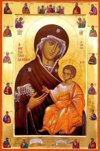 Икона Божией Матери Иверская Афонская