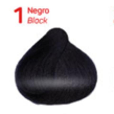 1 черный. Краситель для волос с эффектом лифтинга KV-1
