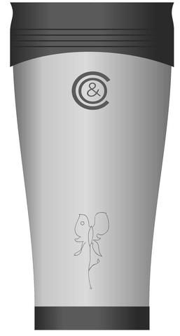 Термокружка с авторским рисунком Светланы Сургановой
