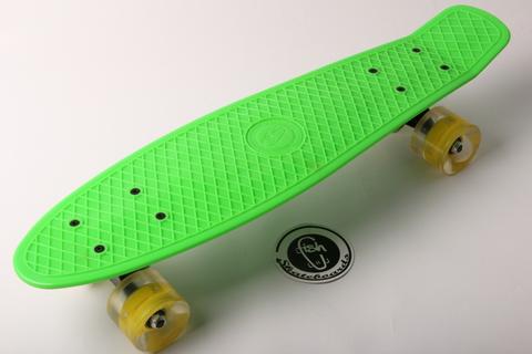 Скейтборд-пенниборд Fish 9929 размер 27