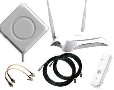Загородный 3G/LTE комплект WIFI интернета (до 1000 кв.м)