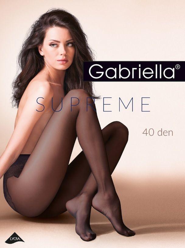 Чулки и колготки: Колготки Supreme 40 den с двойным добавлением лайкры