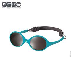 Очки солнцезащитные детские Ki ET LA Diabola 0-18 мес. Peacok Blue (бирюзовый)
