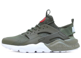 Кроссовки Мужские Nike Air Huarache Run Ultra Hyper Khaki White
