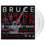 Bruce Springsteen & The E Street Band / Agora Ballroom 1978 - The Classic Cleveland Broadcast Vol. 1 (Clear Vinyl)(2LP)