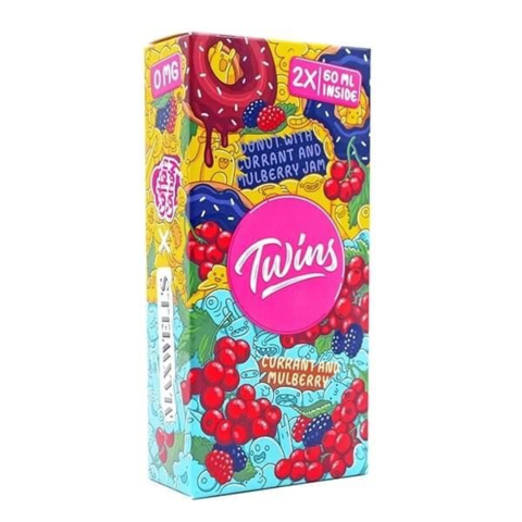 Twins - N2 Donut-Currant and mulberry (2*60мл)