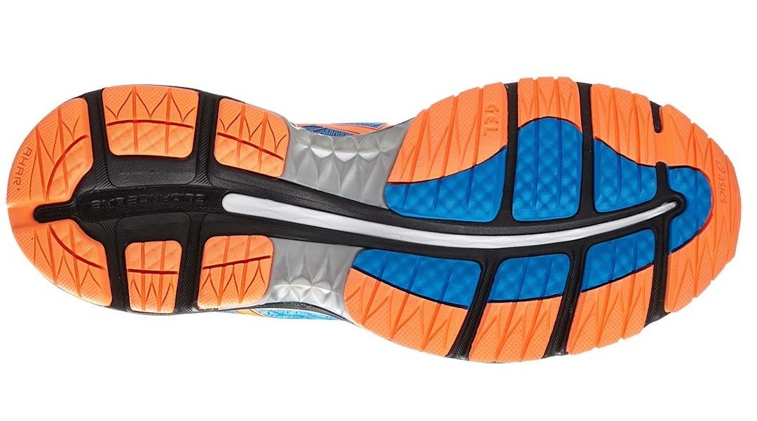 Мужские беговые кроссовки Asics Gel-Nimbus 18 (T600N 3930) синие фото