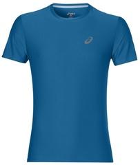 Мужская спортивная беговая футболка Asics SS Top 134084 8154 синяя